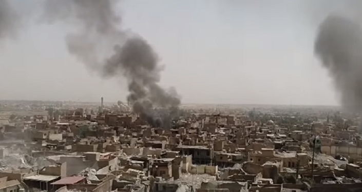 Mossul em dias de luta contra Daesh