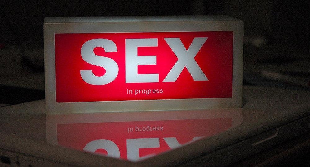 Aviso de Sexo em andamento