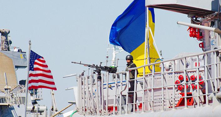 Manobras navais internacionais Sea Breeze 2017 organizadas pelos EUA e Ucrânia no mar Negro