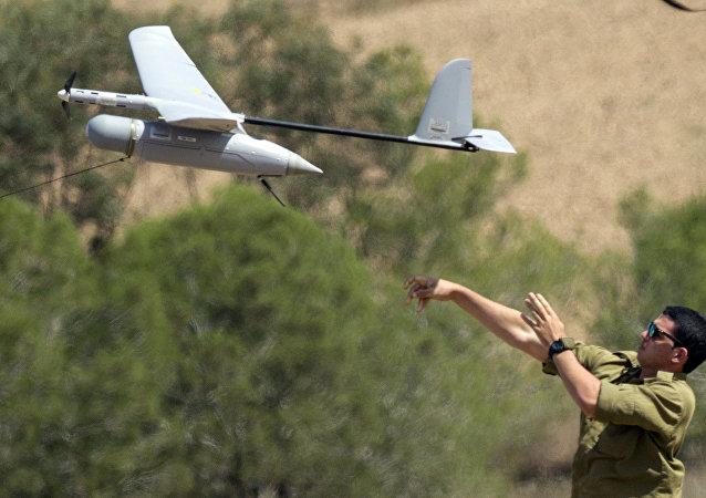 Drone do exército de Israel