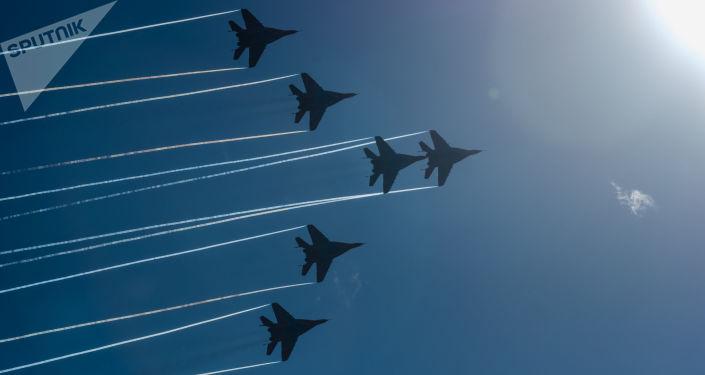 Caças da Força Aeroespacial da Rússia (foto de arquivo)