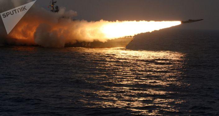 Lançamento de míssil hipersônico antinavio