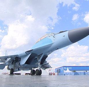 MiG-35 no Salão Aeroespacial Internacional MAKS 2017