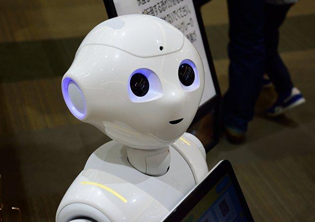 Um robô (imagem referencial)