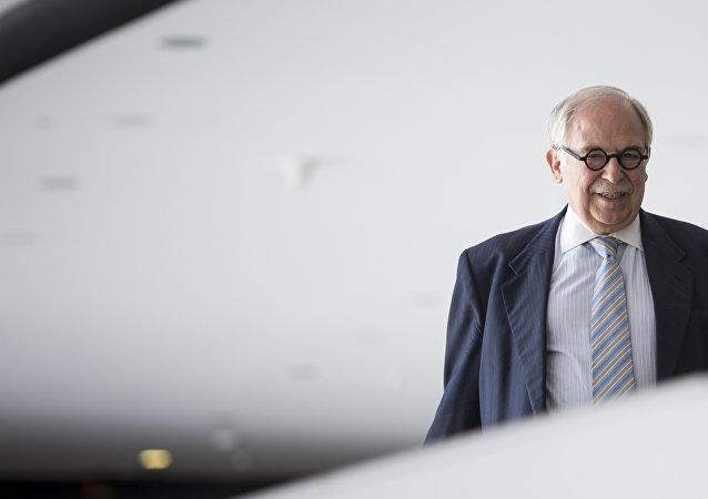 Marco Aurélio Garcia, ex-assessor especial para Assuntos Internacionais dos governos de Luiz Inácio da Silva e Dilma Rousseff