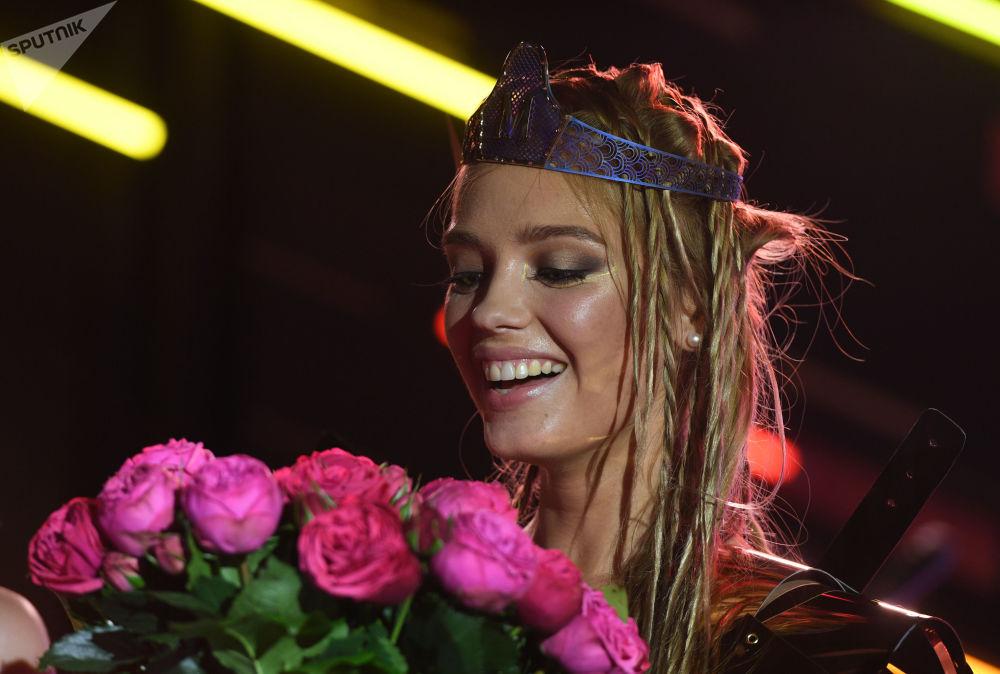 Vencedora do concurso Miss Maxim 2017, Ekaterina Kotaro de Shadrinsk