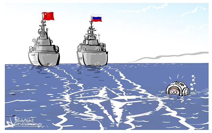 O intrometido da OTAN