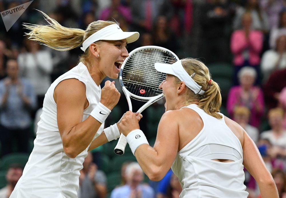 Tenistas russas no Torneio de Wimbledon de 2017