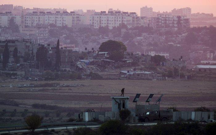 Fronteira entre Israel e Faixa de Gaza