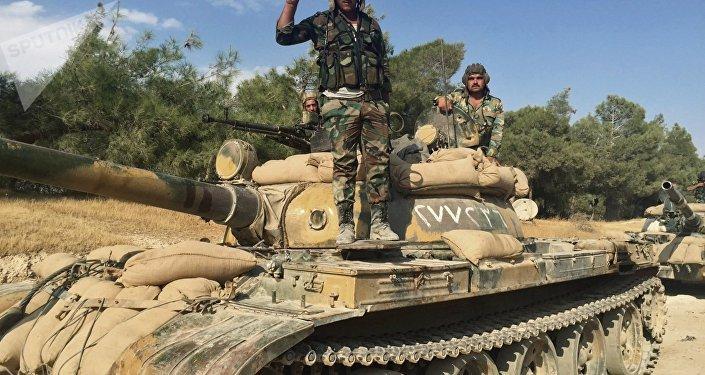 Soldados sírios