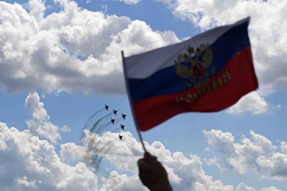 Salão Aerospacial MAKS 2017 foi realizado entre 18 e 23 de julho de 2017, no aeródromo da cidade de Zhukovsky, na região de Moscou
