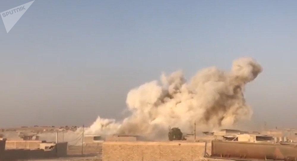 Forças antiterroristas do Iraque explodem usina de bombas do Daesh