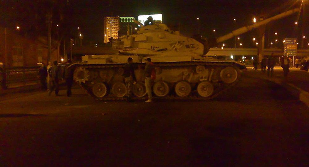 Tanque egípcio