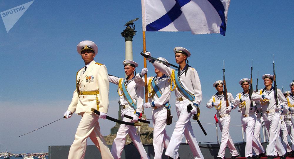 Dia da Marinha em Sevastopol, Rússia