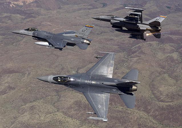 Caças da Força Aérea americana