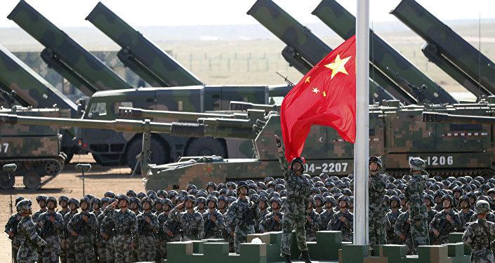 Desfile militar na China (foto de arquivo)