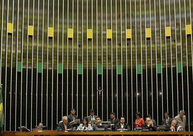 Mesa da Câmara lê denúncia da Procuradoria-Geral contra Temer