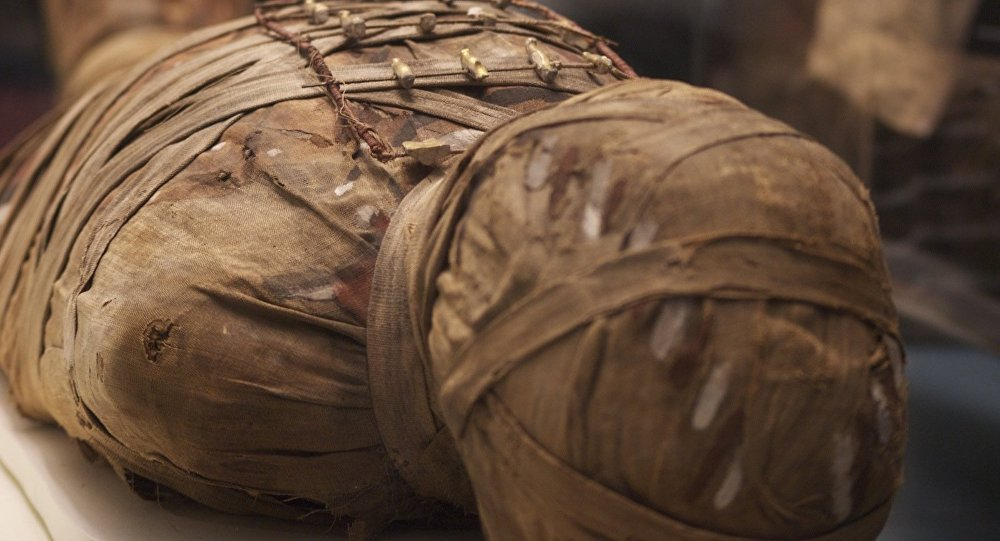 Múmia (foto de arquivo)