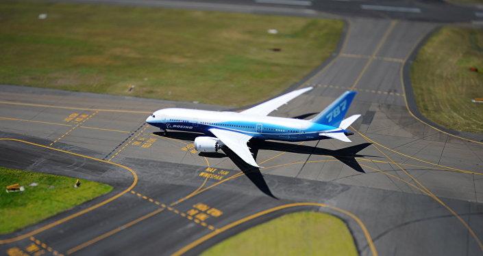 Boeing 787 Dreamliner (foto de arquivo)