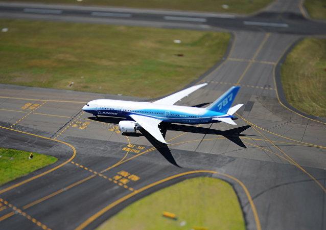 Boeing 787 Dreamliner em Sydney, Austrália (foto de arquivo)