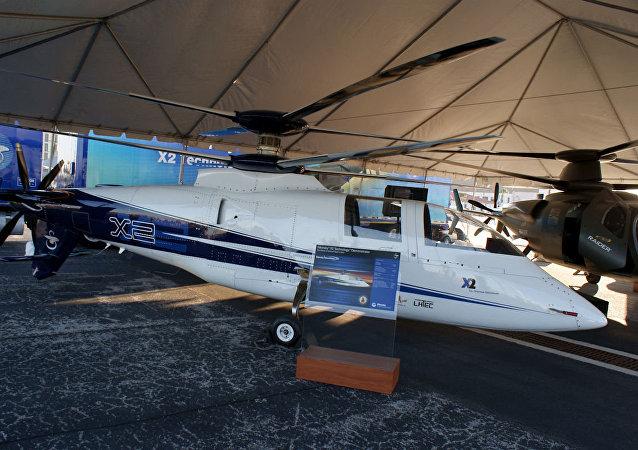 O helicóptero S-97 Raider da Força Aérea dos EUA, descendente direto do seu protótipo X2