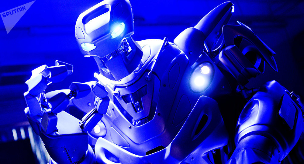Um robô (foto de arquivo)