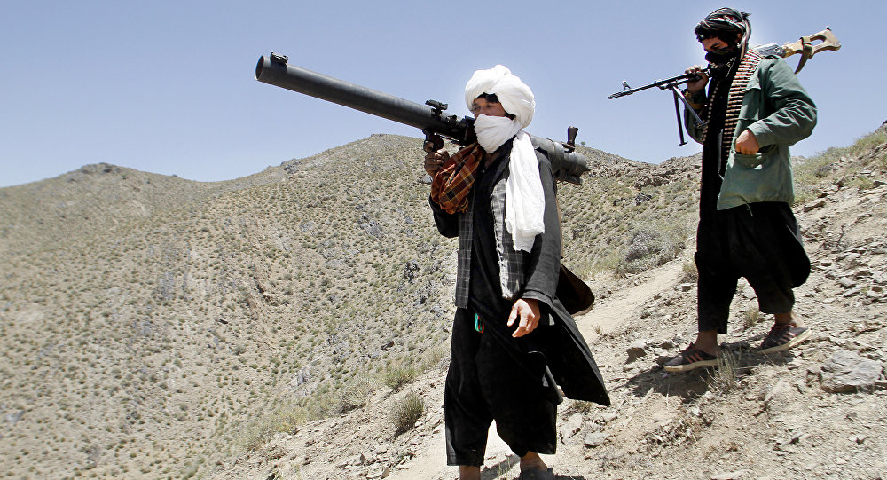 Membros do grupo radical Talibã, do Afeganistão (foto de arquivo).
