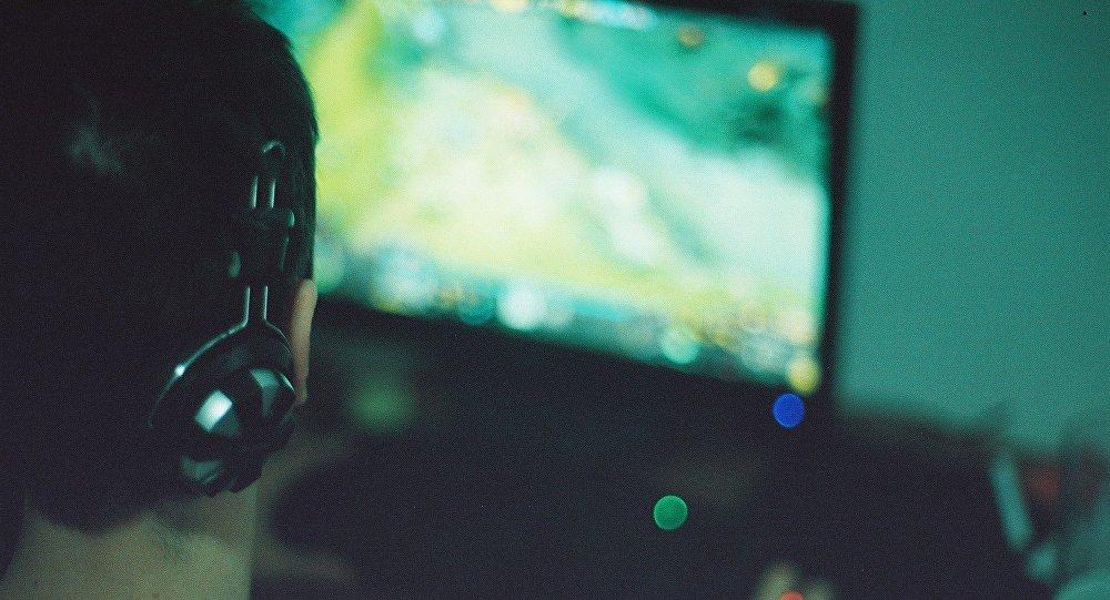Um jogador de Dota 2 (foto de arquivo)