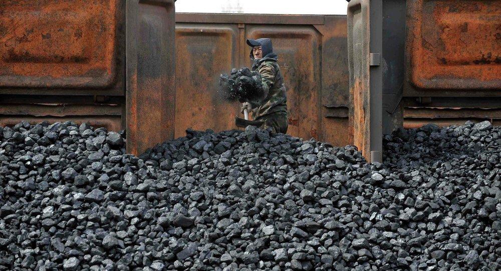 Fábrica de carvão, China