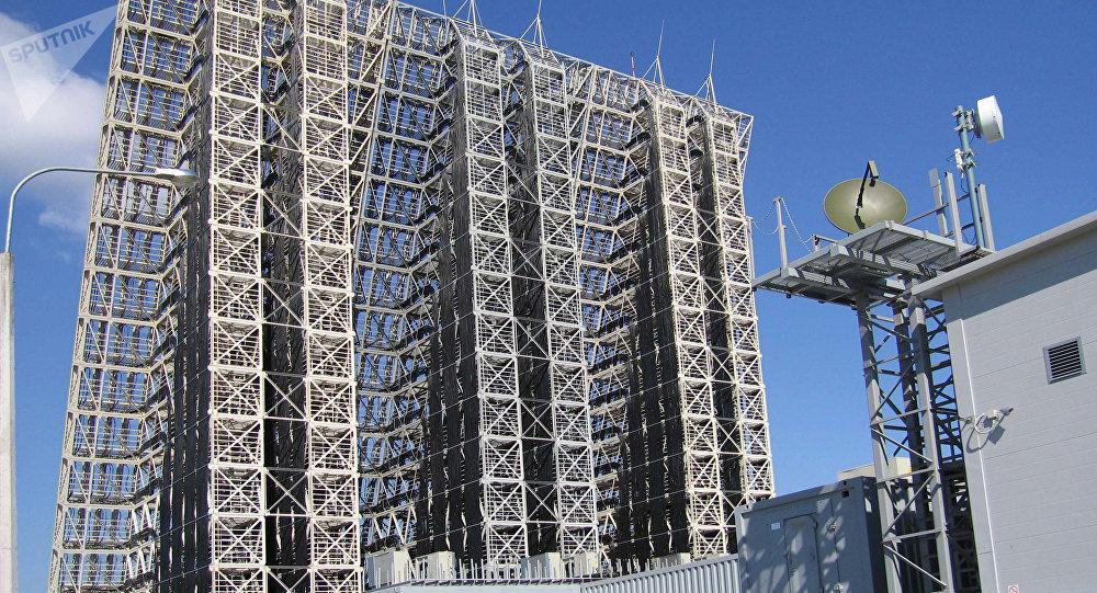 Estação de radar Voronezh-SM (imagem de arquivo)
