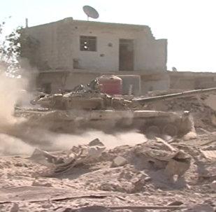 Exército sírio aniquila terroristas ao leste da capital
