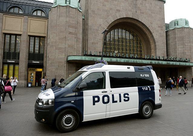Polícia reforça segurança em estação de trem após ataque com faca na Finlândia, 18 de agosto de 2017