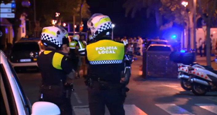 Polícia em Cambrils