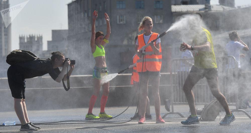 Meia maratona Luzhniki em Moscou