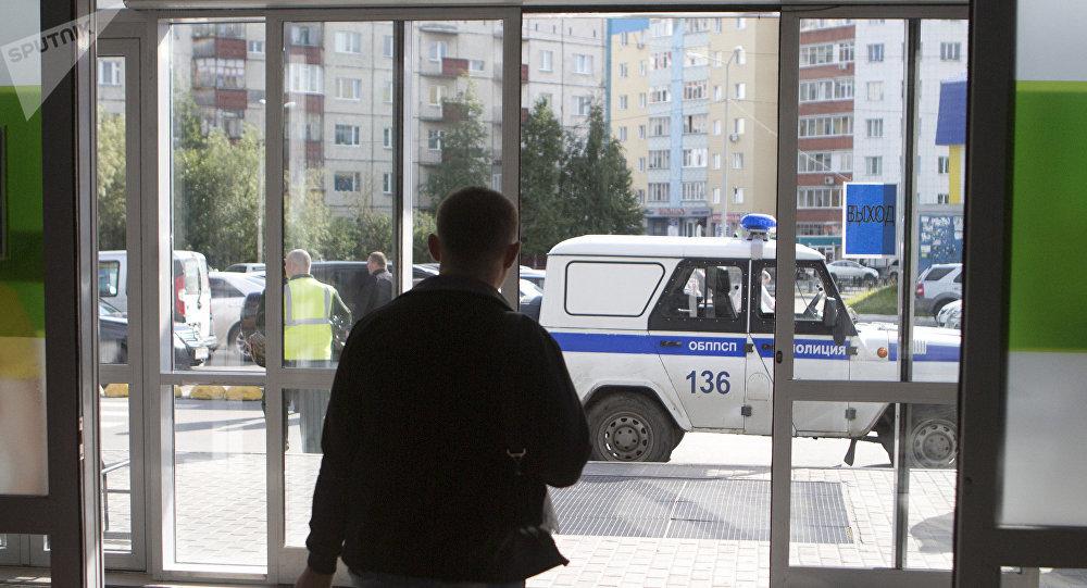 Polícia em uma das cidades russas (imagem referencial)