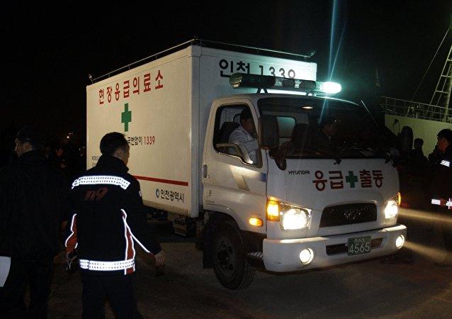 Ambulância sul-coreana, arquivo