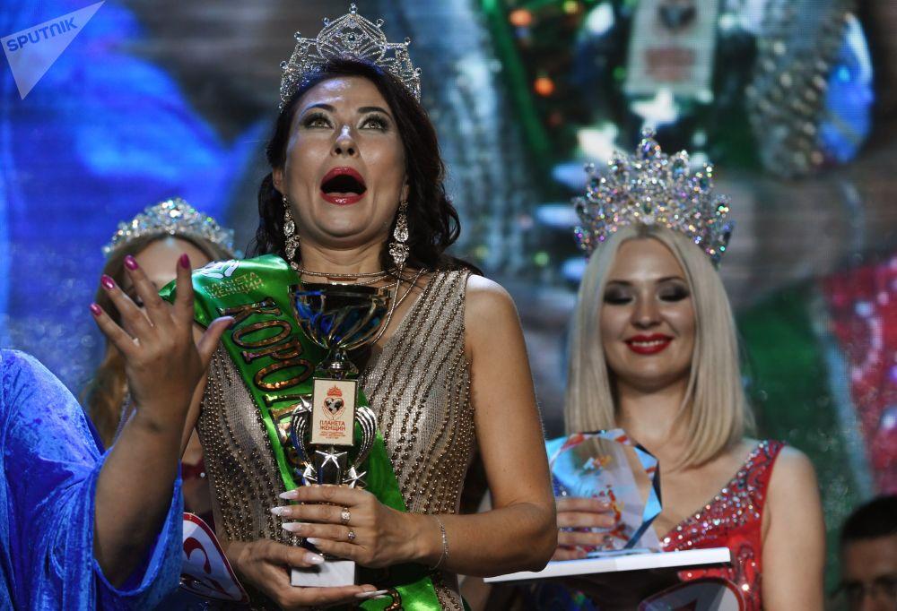 Vera Vasiltsova de Irkutsk, uma das participantes do concurso