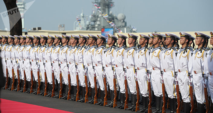 Marinheiros chineses (foto de arquivo)