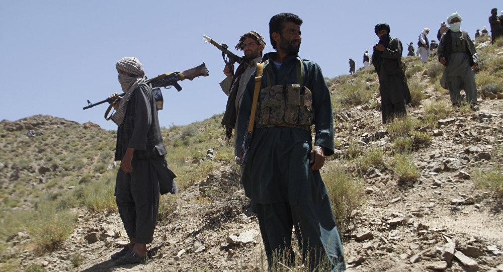Combatentes do Talibã no Afeganistão (foto de arquivo)