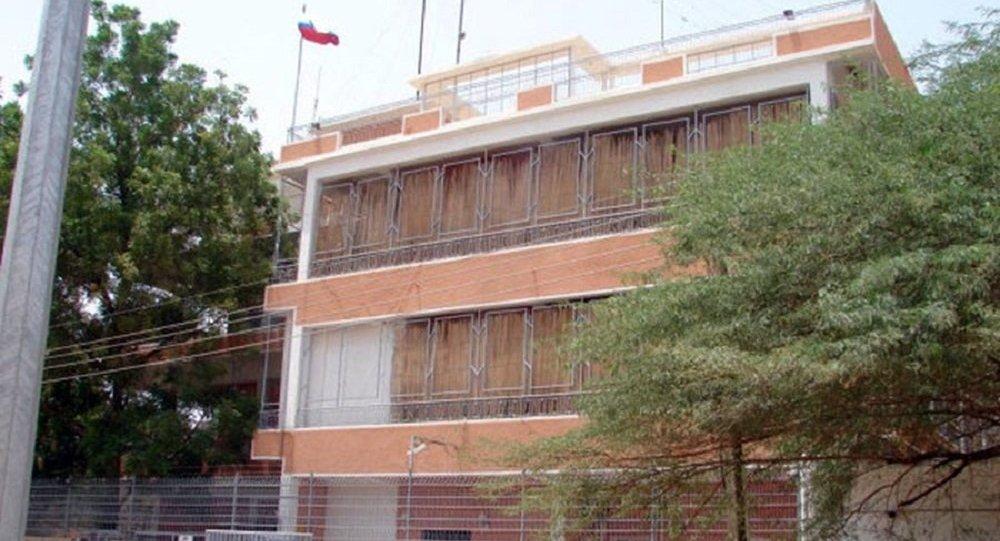 Embaixada da Rússia em Cartum, no Sudão