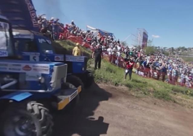 Corrida de tractores