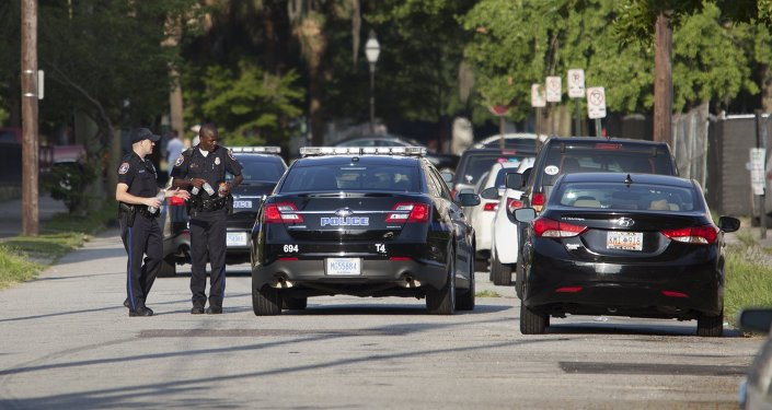 Polícia de Charleston, Carolina do Sul (arquivo)