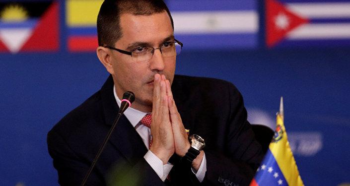 Jorge Arreaza, el canciller de Venezuela