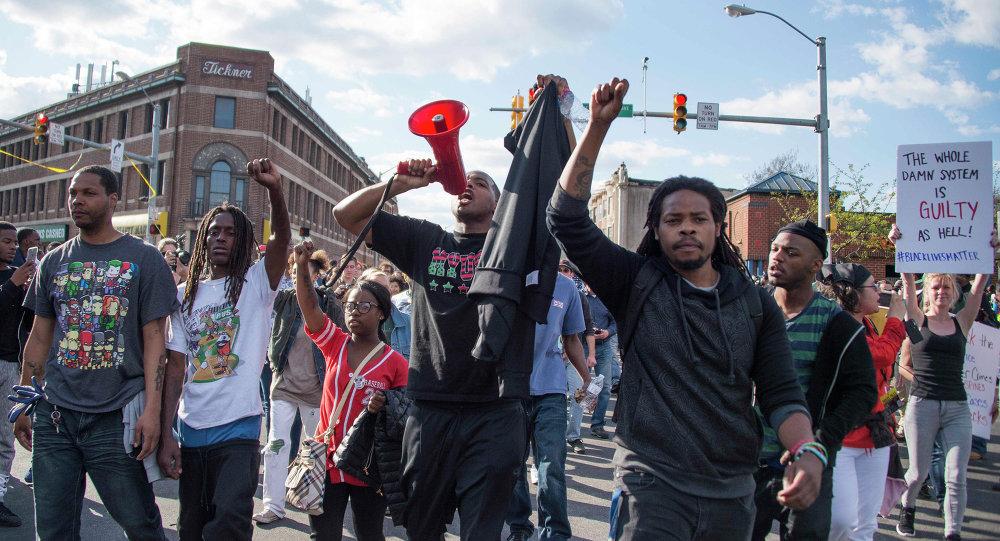 Demonstrações em Baltimore, 28 de abril de 2015