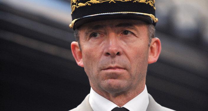 General Christophe Gomart, comandante das forças especiais francesas
