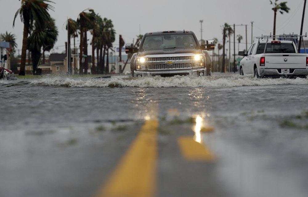 Previsto inicialmente como furacão, o fenômeno meteorológico foi rebaixado para tempestade tropical