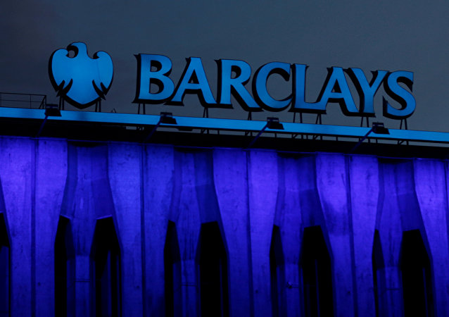 Logotipo do banco Barclays
