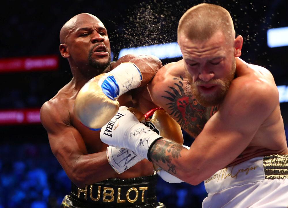 Duelo entre Floyd Mayweather e Conor McGregor, Las Vegas, EUA