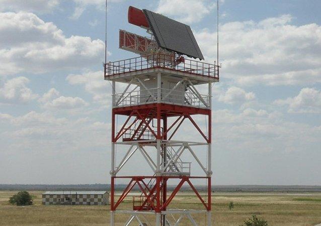 Novo sistema de radar Sopka-2 nos arredores de Moscou