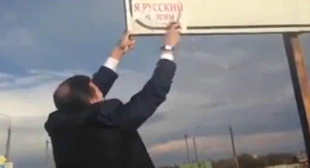 Deputado ucraniano luta contra a ameaça russa
